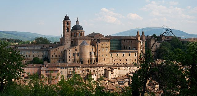 Urbino (Il conte di Luna - Flickr, CC BY-SA 2.0, Wikimedia Commons)